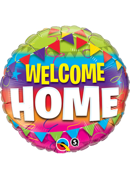 Globo foil Welcome Home Pennants