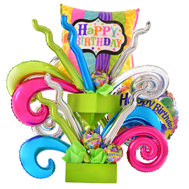 Globos Kurly foil