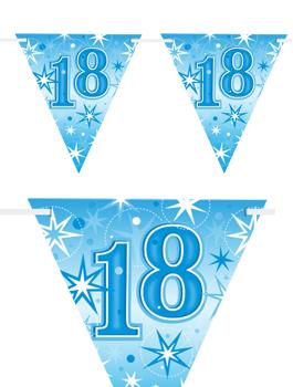 Banderín Fiesta 18 Azul