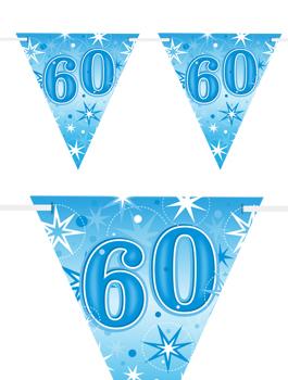 Banderín Fiesta 60 Azul