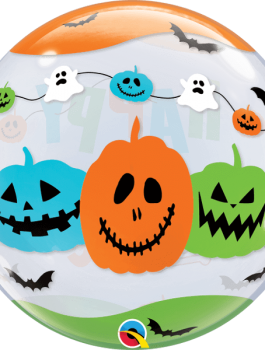 Globo bubble Halloween Fun Front