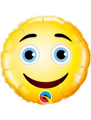 """Globo foil emoji Smile 9"""""""