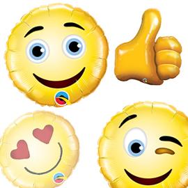 Globos foil Emoticonos