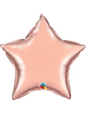 Globo foil estrella Rose Gold
