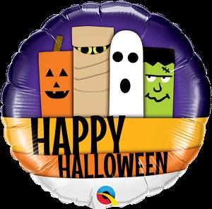 Globo foil Halloween Line-Up