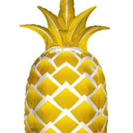 Globo foil Golden Pineapple
