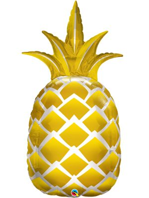 Globo foil Golden Pineapple