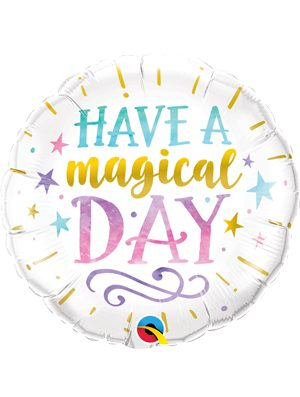 Globo foil Have a Magical Day 18""