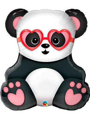 Globo foil Lovestruck Panda Bear