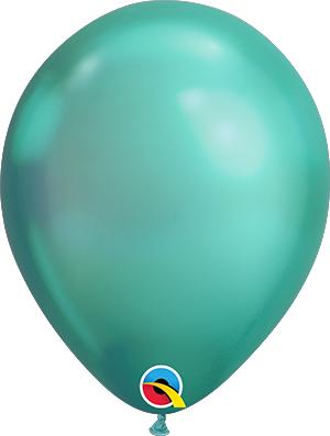 Globo látex Chrome Verde