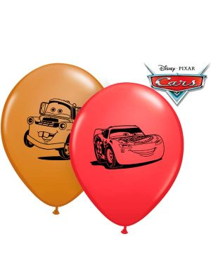 Globo látex Disney Pixar Cars Faces 5""