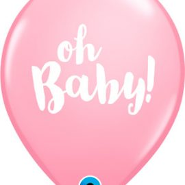 Globo látex Oh Baby! Pink