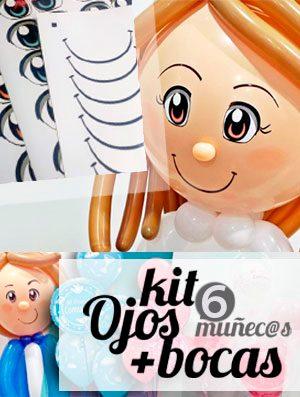 Kit de Ojos para Muñecas de Comunión