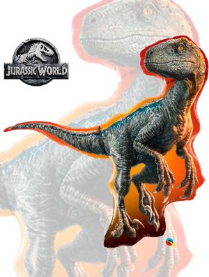 Globo foil Jurassic World Raptor
