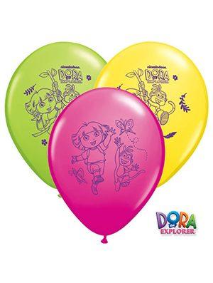 Globo látex Dora la Exploradora