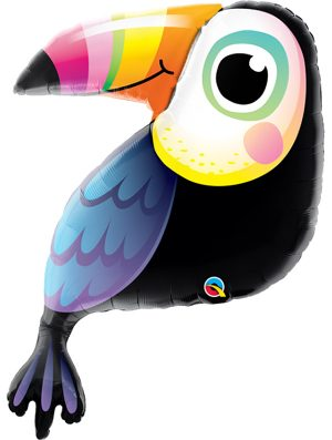 Globo foil Colourful Tucan