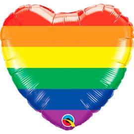 Globo foil Rainbow Stripes