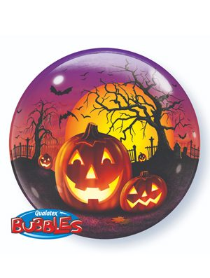 Globo Bubble Haunted Halloween Jack