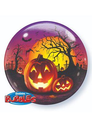 Globo Bubble Haunted Halloween Jack