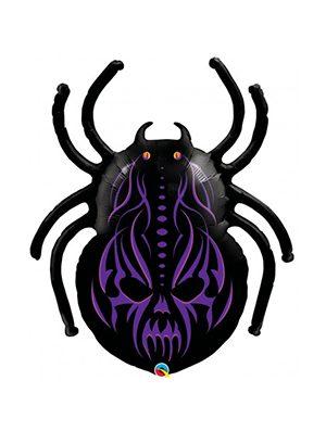 Globo foil araña Gothic Spider