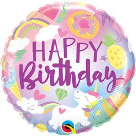 Globo foil Fantastical Fun Birthday