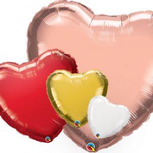 Corazón foil