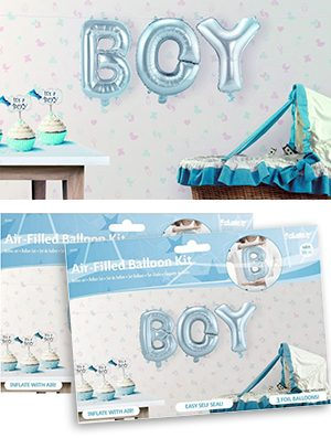 Kit de Globos letras Boy