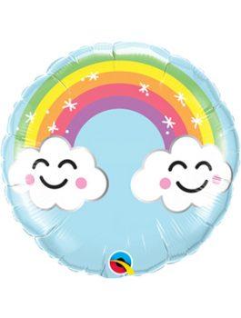 Globo foil Sunshine Rainbow 9