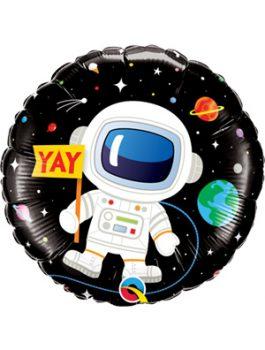 Globo foil Bday Astronaut