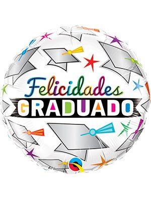 Globo foil Graduado Birrete y Estrellas