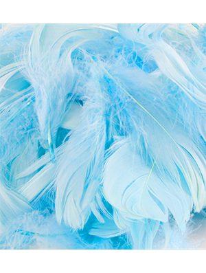 Plumas para Globos color azul claro