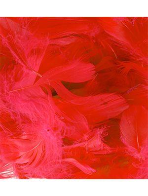 Plumas para Globos color rojo