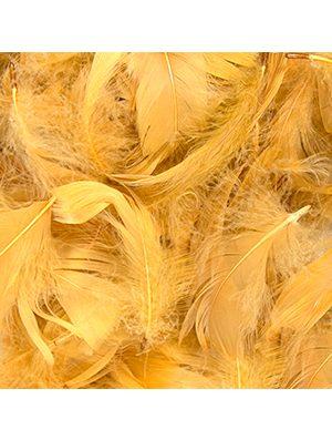 Plumas para Globos color oro