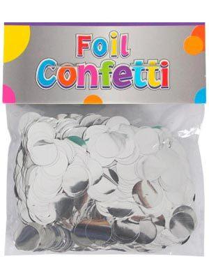 Confetti metálico Plata 10mm