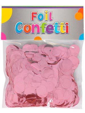 Confetti metálico Rosa 10mm