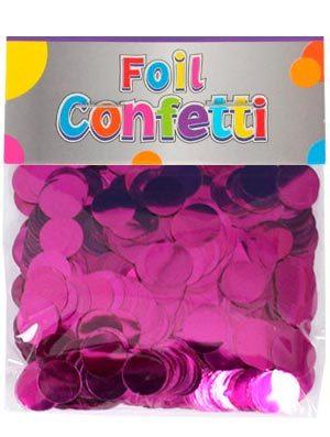 Confetti metálico Fucsia 10mm