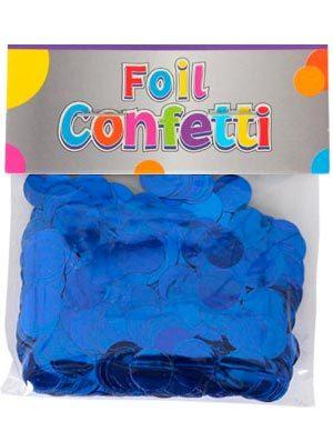 Confetti metálico Azul 10mm