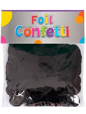 Confetti metálico Negro 10mm