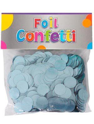 Confetti satinado azul claro 10mm
