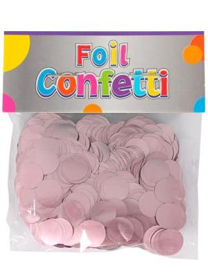 Confetti satinado rosa 10mm