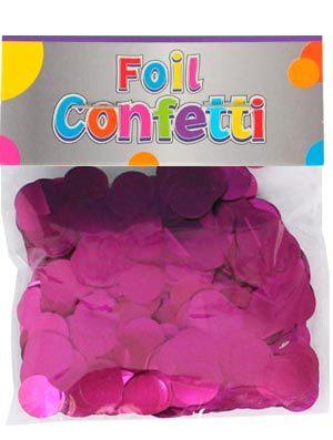Confetti satinado Fucsia 10mm