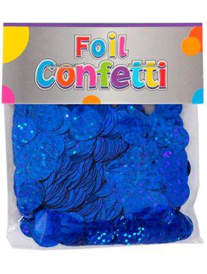 Confetti Holográfico metálico Azul 10mm