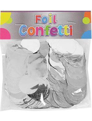 Confetti metálico Plata 25mm
