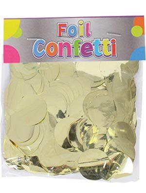 Confetti metálico Oro 25mm