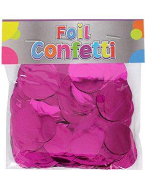 Confetti metálico Fucsia 25mm