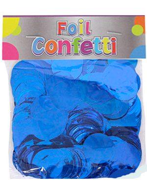 Confetti metálico Azul 25mm