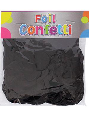 Confetti metálico Negro 25mm