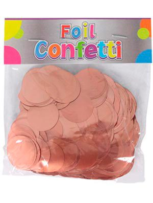 Confetti metálico Rose Gold 25mm