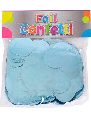 Confetti metálico Azul Claro 25mm