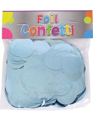 Confetti satinado Azul claro 25mm